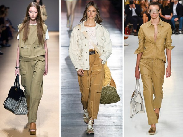 Safari style Milan fashion week spring summer 2020