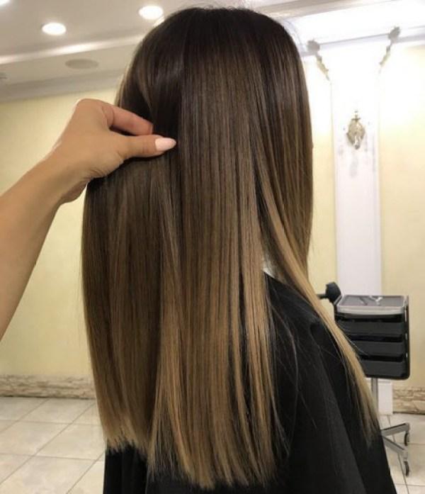 Long hair haircuts trends 2020