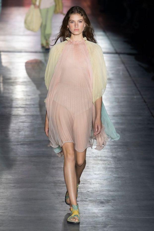 Pleated dressed designs 2020