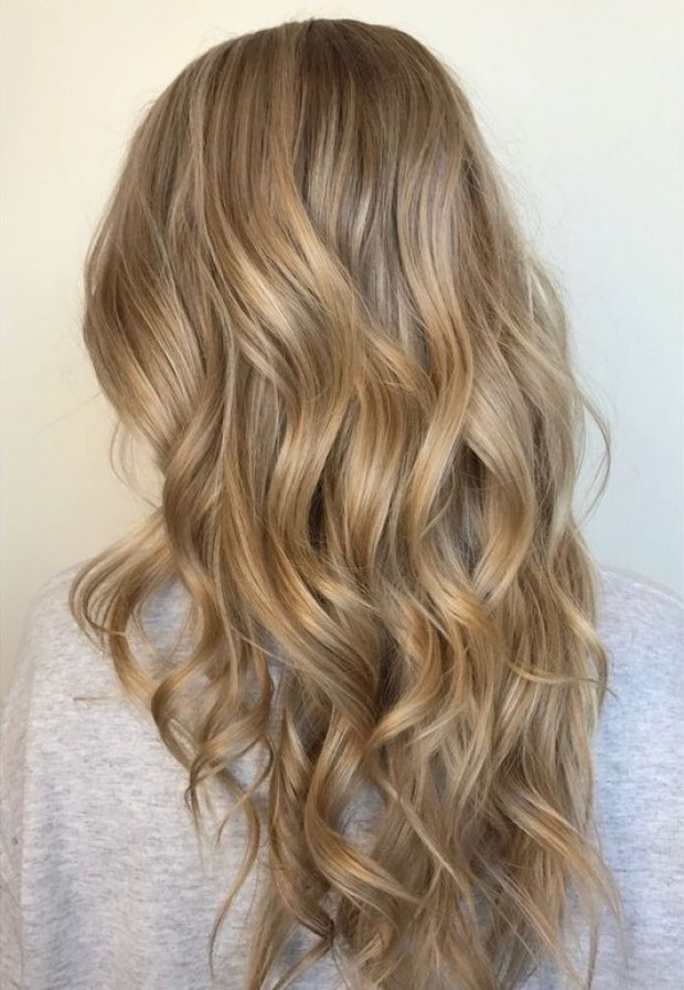 Creamy blonde 2020 long hair