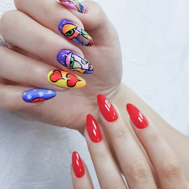 Long nails trends 2020