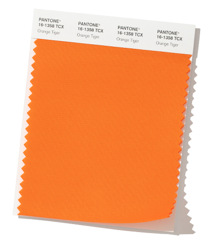 Orange Tiger Color