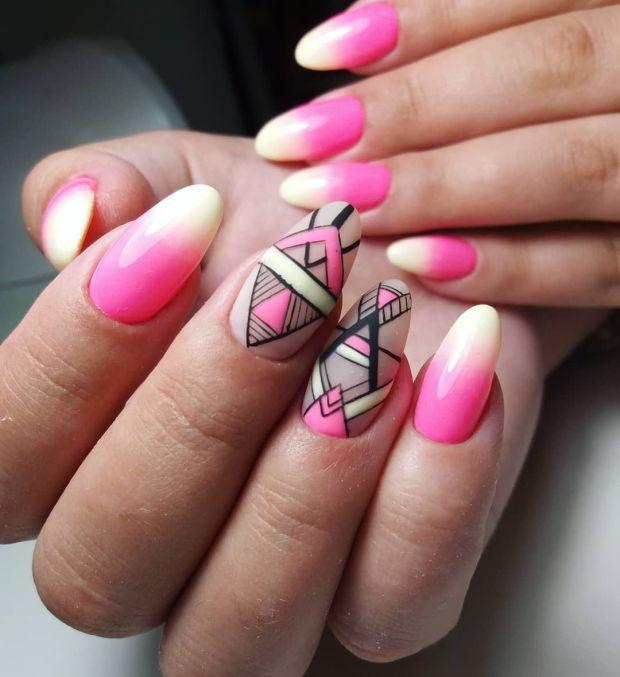 Ombre manicure ideas 2020