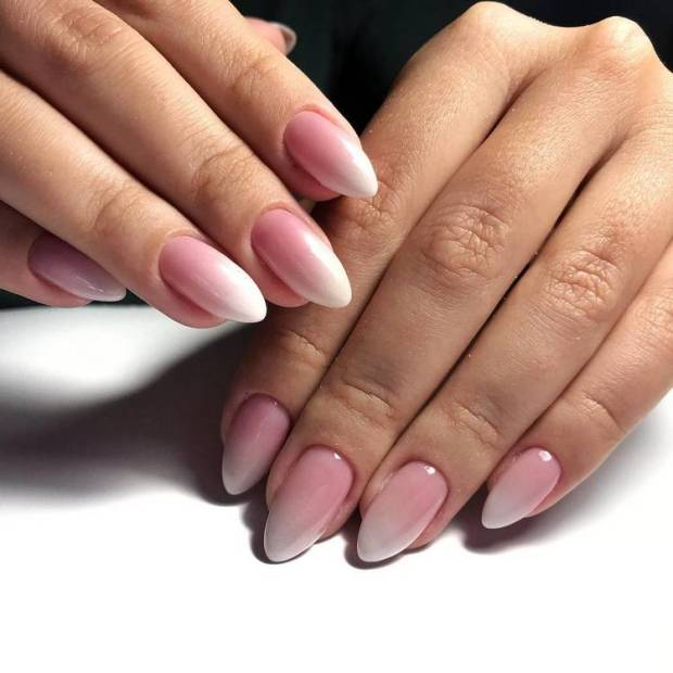 pointed ombre