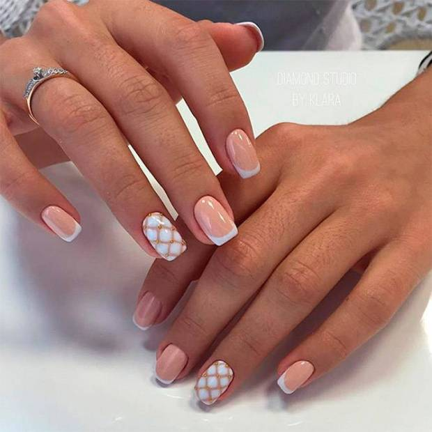 French nails ideas 2020