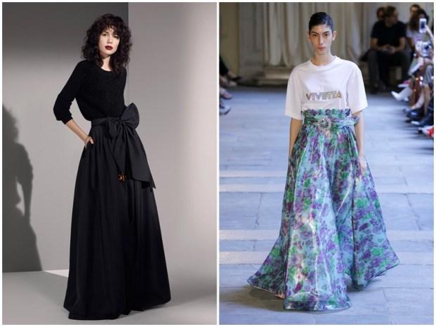 Maxi spring summer 2020 skirts