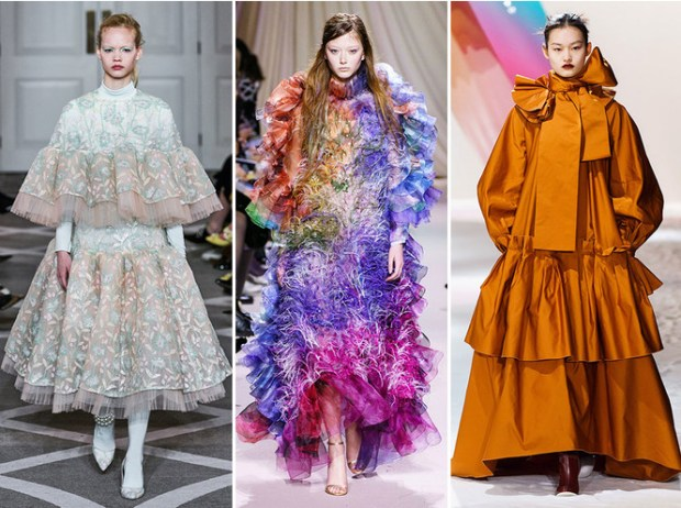 London Fashion Week Fall Winter 2020 2021 Dresses