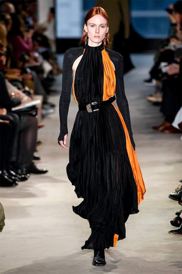 Pleated dresses fall winter 2020 2021