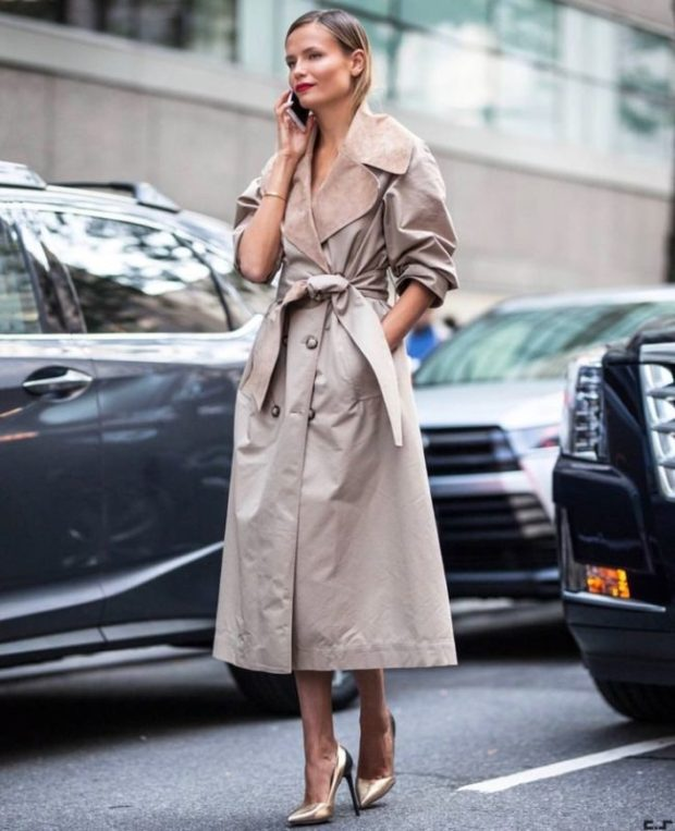 What trench coats to wear this fall