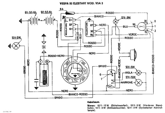 Vespa Et2 Wiring Diagram   familycourt.us on