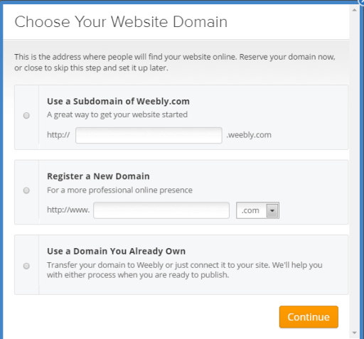 weebly domain