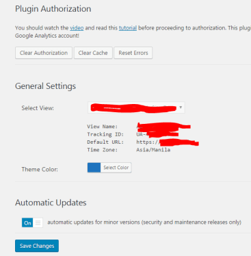 Plugin Authorization