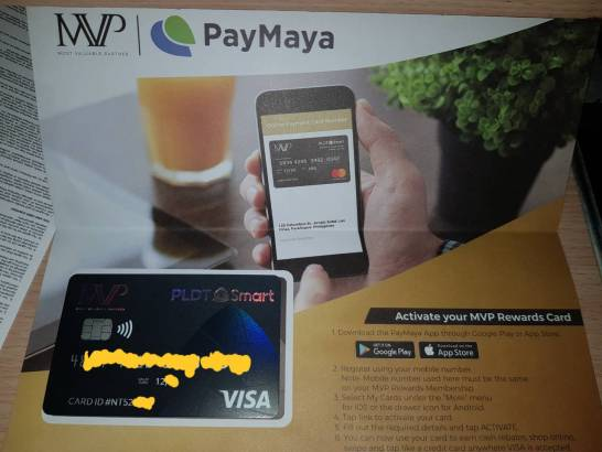 MVP Rewards card Debit Card