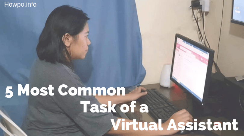 5 Most Common Tasks of a Virtual Assistant