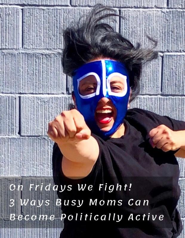 Woman wearing a luchadora mask