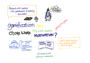 Visual notes from Nic Whitton presentation