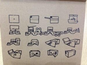 Google cardboard instructions