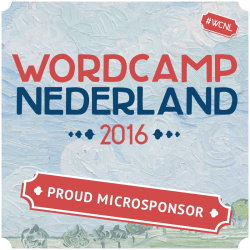 Microsponsors - WordCamp NL 2016