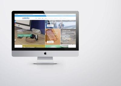 OE Electrics' Website