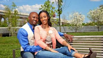 married black couple
