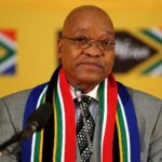 president Zuma giving a speech