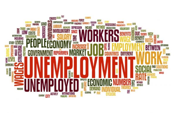 high rate of unemployment