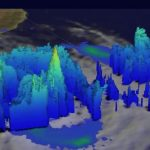 Tropical Dineo Storm In 3D