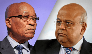 president Zuma and Pravin Gordhan