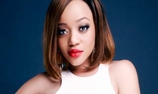 Thando Thabethe finally shows her man