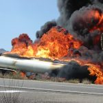 Lorry tanker fire on M4 causes long delays