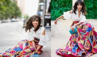 Michelle Williams Stuns In African Fabrics