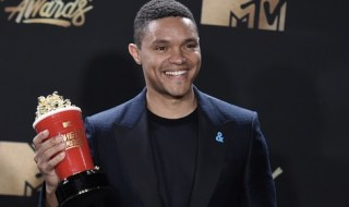Trevor Noah wins best host at the MTV Movie & TV Awards