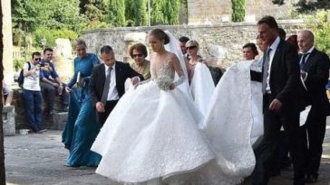 Billionaire's 23 Year-Old Daughter Marries in 3-Day Italian Wedding Bash