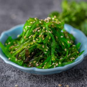 fresh desalted wakame