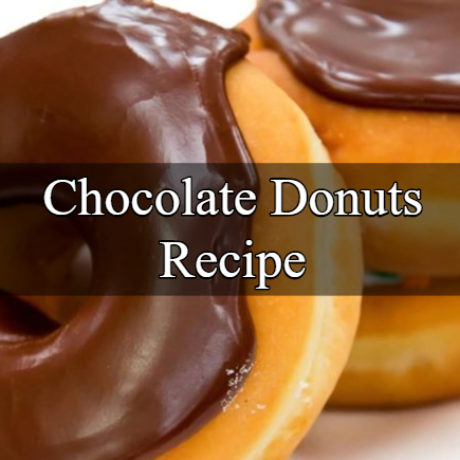 Chocolate Donuts Homemade Steps