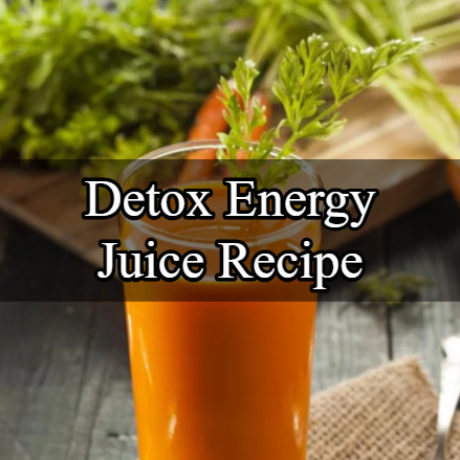 Detox Energy Juice: Oranges and Carrot Cocktail