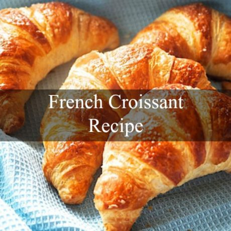 French Croissant Homemade Easy Steps