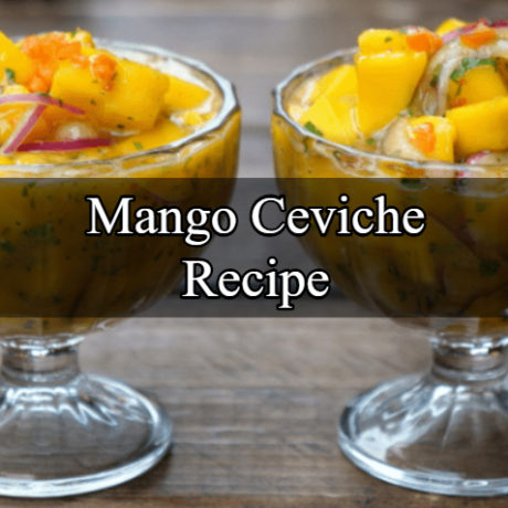 Mango Ceviche Easy Step by Step
