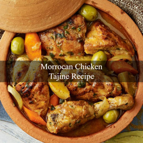 Moroccan Chicken Tajine Homemade