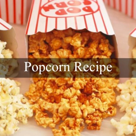 Popcorn Salty or Sweet Homemade