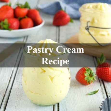 Pastry Cream Homemade Step by Step