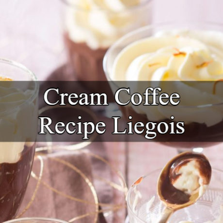 Cream Coffee Liegois European Way