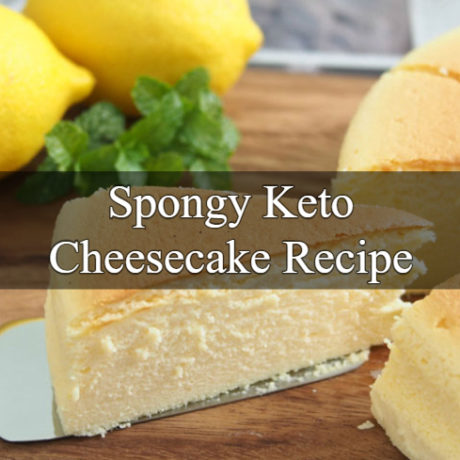 Keto Cheesecake Spongy Japanese Method