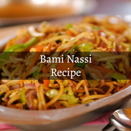 Bami Nassi Original and Traditional Way