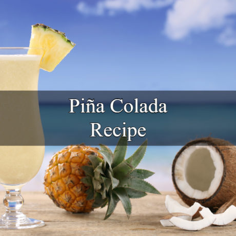 Piña colada Homemade Quick Cocktail