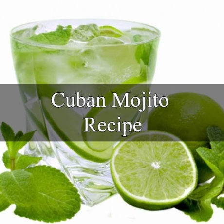 Cuban Mojito Homemade 5 Minute Steps