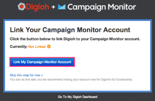 Link Campaign Monitor with Digioh