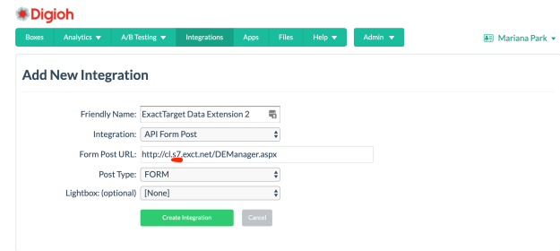 data extension marketing cloud