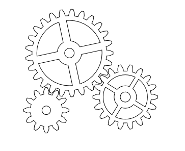 nicu's FOSS'n'stuff: F10 Gears: Drawing the Gears