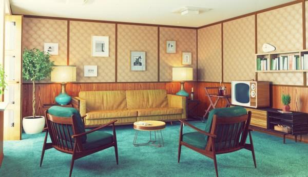 cum decorezi apartamentul in stilul vintage